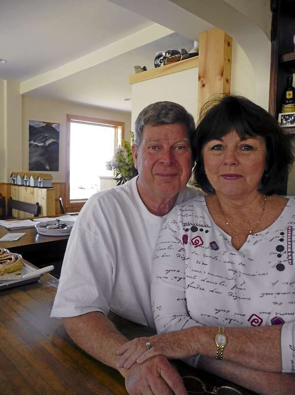 Jim and Judy Heyer, formerly of Florida, came to Lubec on vacation in 2001 and never looked back. They have spent two years renovating a structure into Water Street Tavern and Inn. Having two new restaurants in downtown Lubec has sparked friendly competition, Jim Heyer said, and prompted local businesses to &quotkick it up a notch.&quot BANGOR DAILY NEWS PHOTO BY SHARON KILEY MACK