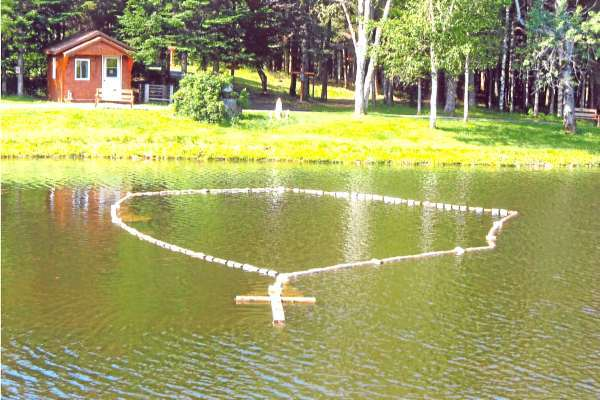 Rosary Pond on Mizpah property. PHOTO COURTESY OF THE MIZPAH ORGANIZING COMMITTEE. &quotjonijul14&quot