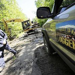 'American Loggers' join track project