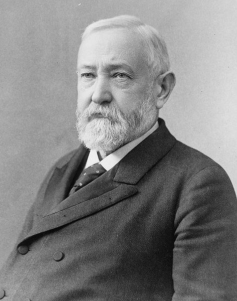 Benjamin Harrison. 1896 photo.