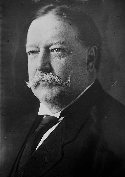 William Howard Taft, 1908 photograph.