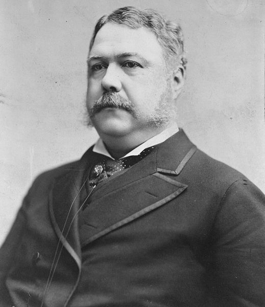 Chester A. Arthur. 1882 photograph