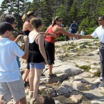 Some spectators find, others miss Obamas' trail