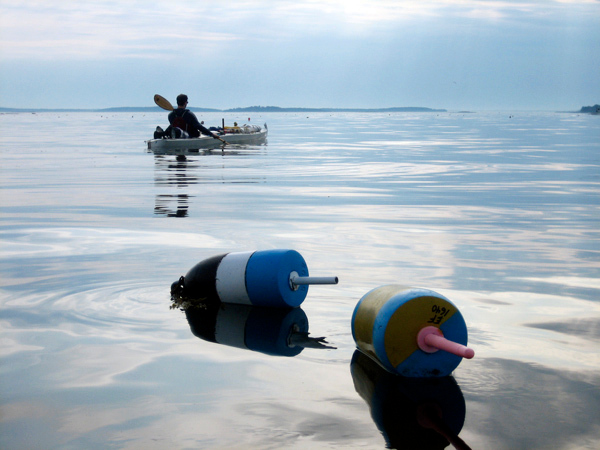 These photos are to go with a story slugged ``paddle'' The were provided by Naomi McIsaac, and depict scenes from a trip she and Jordan Smith took along the Maine Island Trail recently.