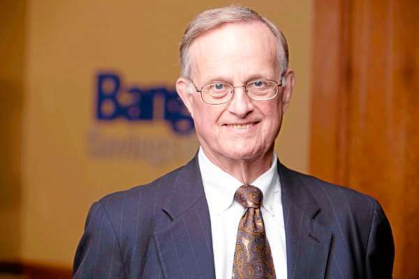 Bangor Savings Bank incoming Board Chairman, business leader James H. Goff.