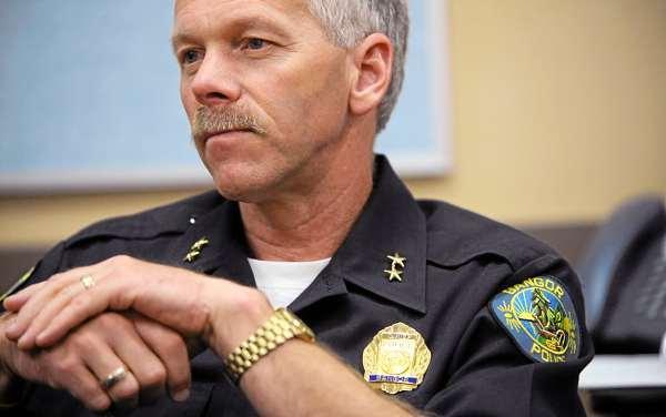 Bangor Police Chief Ron Gastia  (BANGOR DAILY NEWS PHOTO BY GABOR DEGRE)  Bangor Police chief Ronald Gastia.  (Bangor Daily News/Gabor Degre)
