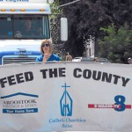 NMCC students help local families with 1 ton of food