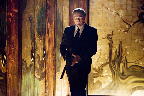 LEONARDO DiCAPRIO as Cobb in Warner Bros. Pictures? and Legendary Pictures?sci-fi action film ?Inception,? a Warner Bros. Pictures release.PHOTOGRAPHS TO BE USED SOLELY FOR ADVERTISING, PROMOTION, PUBLICITY OR REVIEWS OF THIS SPECIFIC MOTION PICTURE AND TO REMAIN THE PROPERTY OF THE STUDIO. NOT FOR SALE OR REDISTRIBUTION.