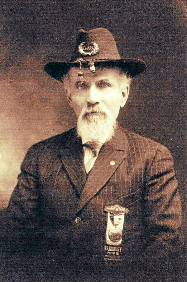William Wallace Clark of East Machias, a Civil War veteran whose grave was recently discovered in Jonesport. supplied by the U.S. Department of Defense.