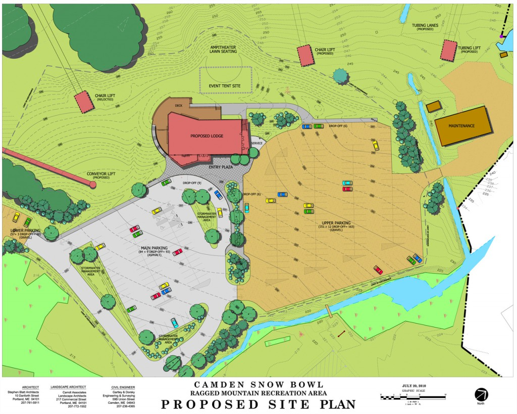 Illustrations from Camden Snow Bowl's plan. (Courtesy of Camden Snow Bowl and the Town of Camden) GOES WITH STEEVES STORY  CPLAN