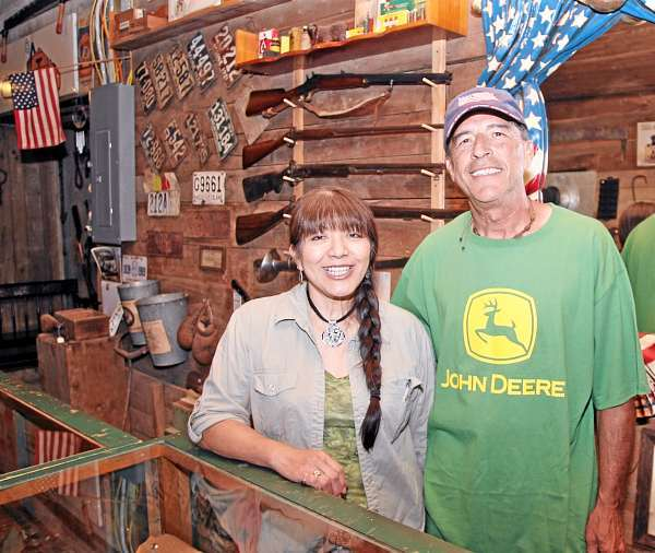 NEW OWNERS ? Dan and Ronnie Stauffer of Houlton are the new owners of Aroostook County Pickers, an  antique store on U.S. Route 1 in Monticello. Houlton Pioneer Times Photo/Joseph Cyr