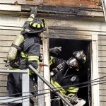 Fire displaces tenants at Third Street apartment building