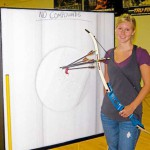 Maine archers take aim at open shoot night