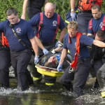Brewer man jumps into Kenduskeag to aid fallen pedestrian