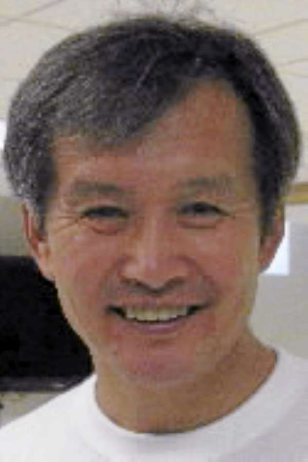 Huang Ming, the chairman of Himin Solar Energy Group in China. BANGOR DAILY NEWS  PHOTO BY ABIGAIL CURTIS