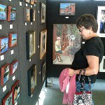 Bangor: Gray sky doesn' t stop flea market, art fest