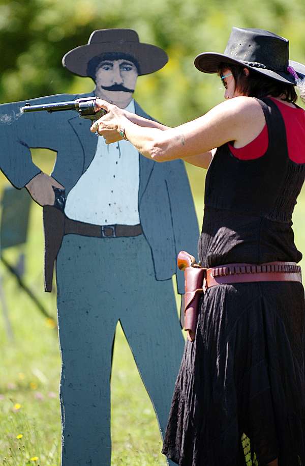 Some Mainers are using pistols to find their 'inner cowboy'