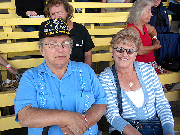 John and Cecile Barlow of Fort Fairfield came to the Bangor State Fair Saturday evening to see Dick Stacey's Country Jamboree reunion show.   BANGOR DAILY NEWS PHOTO BY NOK-NOI RICKER