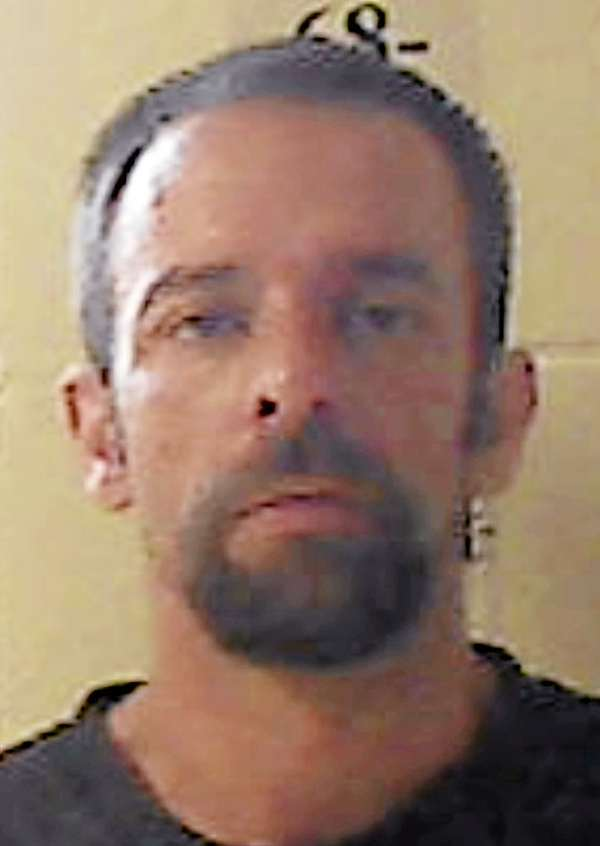 Timothy Rolfe, 34, of Ripley, charged with  burglaries in Parkman and Cambridge. PHOTO COURTESY OF SOMERSET COUNTY JAIL