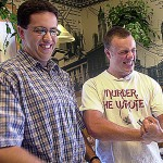 'The Subway Guy' Jared Fogle promotes healthful living at Bangor events