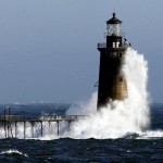 Picturesque Ram Island ledge lighthouse for sale