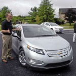 Silence is electric in the 2012 Chevrolet Volt