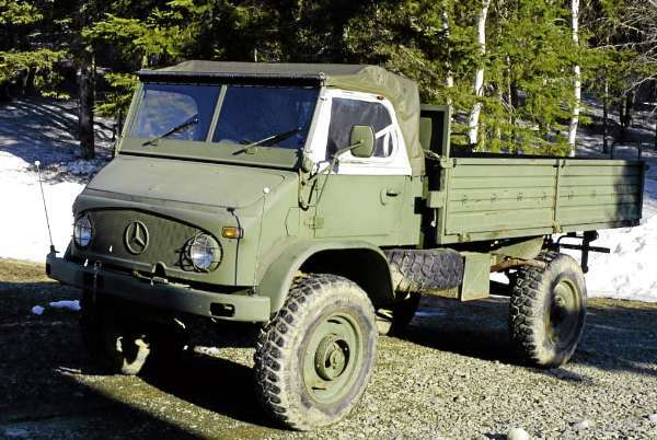 1976 Mercedes Benz Unimog Belgian Troop Carrier. (Julia Bayly photo)