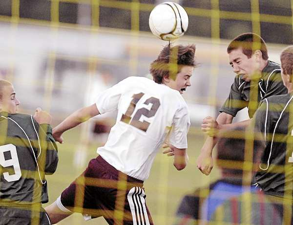 Hermon defense stymies Ellsworth boys soccer squad as teams battle to scoreless stalemate