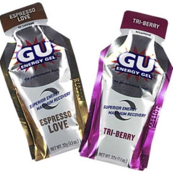 GU Energy Gel. Give to  Jeff Strout for Toolbox/Outdoors.