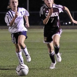 Caribou girls soccer team beats archrival PI