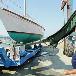 Trend-setting Hinckley yacht returns home after years at sea