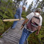 Two charged in Orono Bog Boardwalk vandalism case