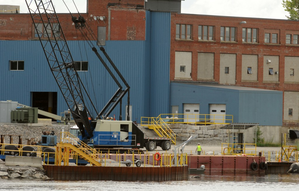 (BANGOR DAILY NEWS PHOTO BY GABOR DEGRE)  CAPTION  The Cianbro Corporation manufacturing facility in Brewer. (Bangor Daily News/Gabor Degre)