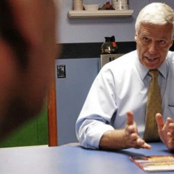 Michaud airs first TV campaign commercial