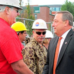 LePage brings age into governor's race