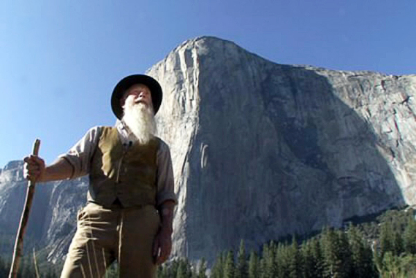 Lee Stetson as John Muir photos, in attachment, courtesy of Friends of Acadia. w/JONI story