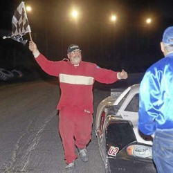 A little luck helps Hermon driver achieve rare feat at Speedway 95
