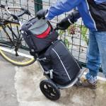 Bike panniers aid daily commuting