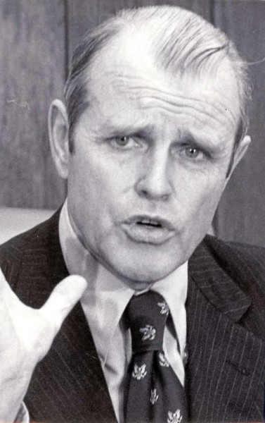 James B. Longley, Lewiston, Governor of Maine. FILE PHOTO 1976