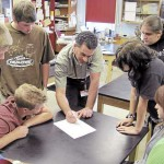 High school students delve into the art and science of taxidermy