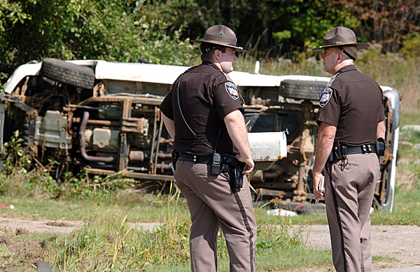 Waldo man charged with OUI after truck crash