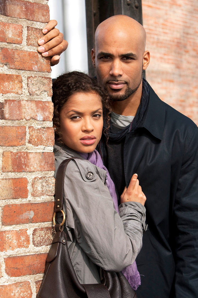 UNDERCOVERS -- Pilot -- Pictured: (l-r) Gugu Mbatha-Raw as Samantha Bloom, Boris Kodjoe as Steven Bloom -- Photo by: Chris Haston/NBC