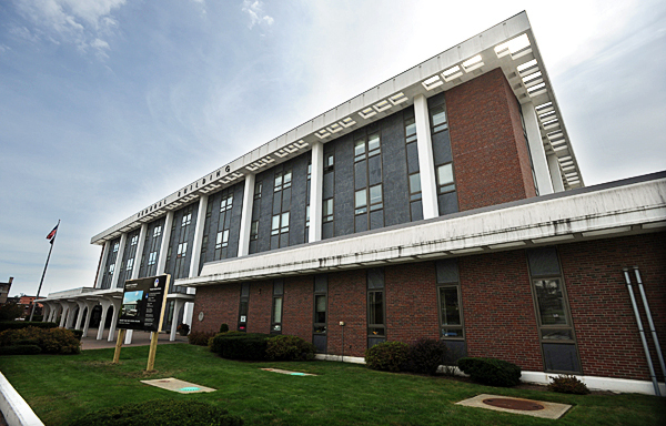 The Margaret Chase Smith Federal Building in Bangor as seen on Thursday.  BANGOR DAILY NEWS PHOTO BY KEVIN BENNETT