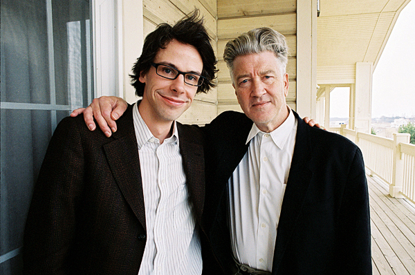 David Sieveking und David Lynch im 
