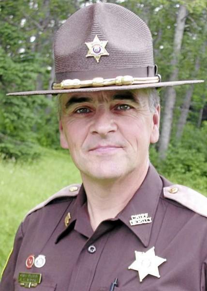Sheriff James Madore  (NEWS Photo byBeurmond Banville)