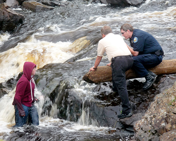 Machias police deal with 2 loud parties, river search hoax