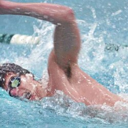 Ian Carbone of Mount Desert Island is now swimming at the University of Texas.