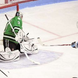 North Dakota scores 3 unanswered goals, beats Maine