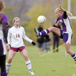 Robinson leads Bangor girls soccer team by Waterville