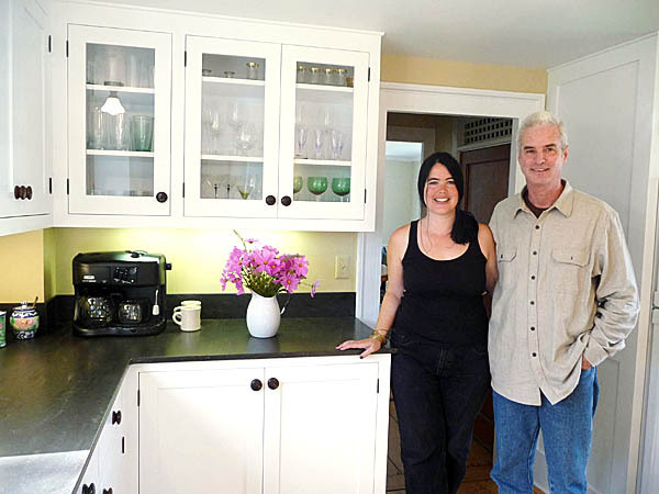 FineArtist: Renovators Patrick Mealey and Joyce Jackson. (Bangor Daily News/Sharon Kiley Mack)